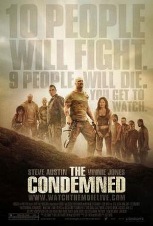 The Condemned - Theatrical release poster