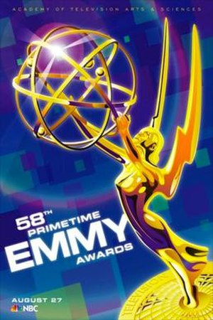 58th Primetime Emmy Awards - Promotional poster