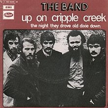 The Band - Up on Cripple Creek single.jpg