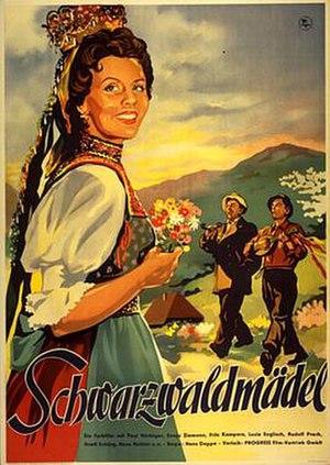 The Black Forest Girl (1950 film) - Image: The Black Forest Girl (1950 film)