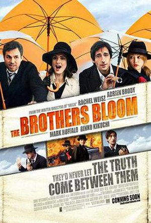 The Brothers Bloom - Theatrical release poster