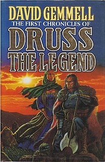 <i>The First Chronicles of Druss the Legend</i> novel by David Gemmell