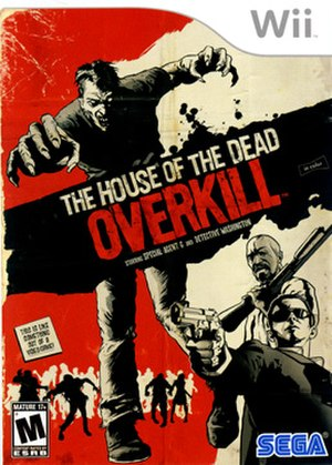 The House of the Dead: Overkill - Image: The House of the Dead Overkill USA