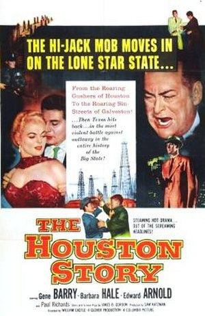 The Houston Story - Theatrical release poster