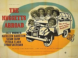 The Huggetts Abroad - Image: The Huggetts Abroad Film Poster