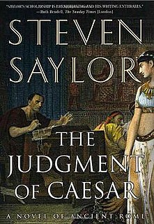 <i>The Judgment of Caesar</i> book by Steven Saylor