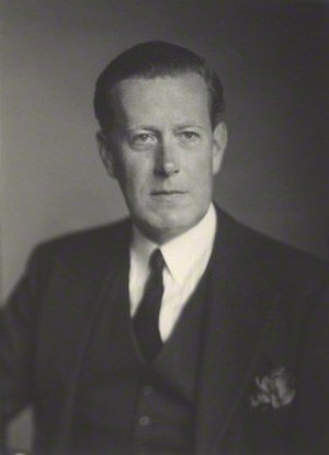 Victor Warrender, 1st Baron Bruntisfield - Image: The Lord Bruntisfield in 1945