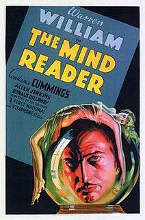 <i>The Mind Reader</i> 1933 film by Roy Del Ruth