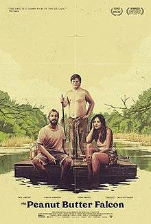Three people on a raft