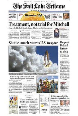 The Salt Lake Tribune - Image: The Salt Lake Tribune front page