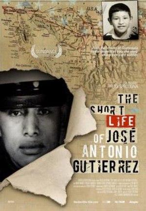 The Short Life of José Antonio Gutierrez - Image: The Short Life of José Antonio Gutierrez Film Poster
