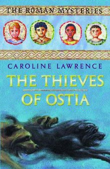 Image result for book cover the thieves of ostia caroline lawrence