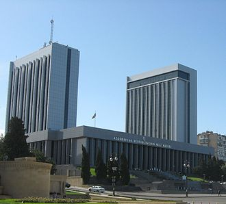 National Assembly (Azerbaijan) - The building of the National Assembly of Azerbaijan