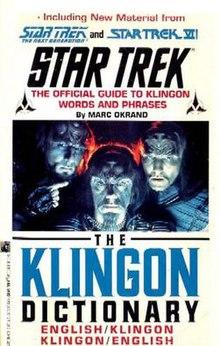 The klingon dictionary wikivividly.