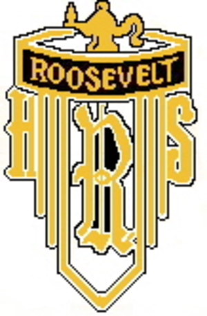 Theodore Roosevelt College and Career Academy - Image: Theodore Roosevelt High School crest