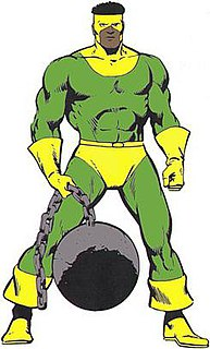 Thunderball (comics) Marvel supervillain