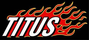 Titus (TV series) - The Titus logo used in the opening credits.