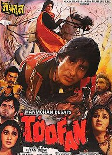 <i>Toofan</i> (1989 film) 1989 Hindi film directed by Ketan Desai