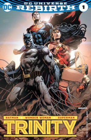 Trinity (comic book) - Image: Trinity Vol 2 1 Variant
