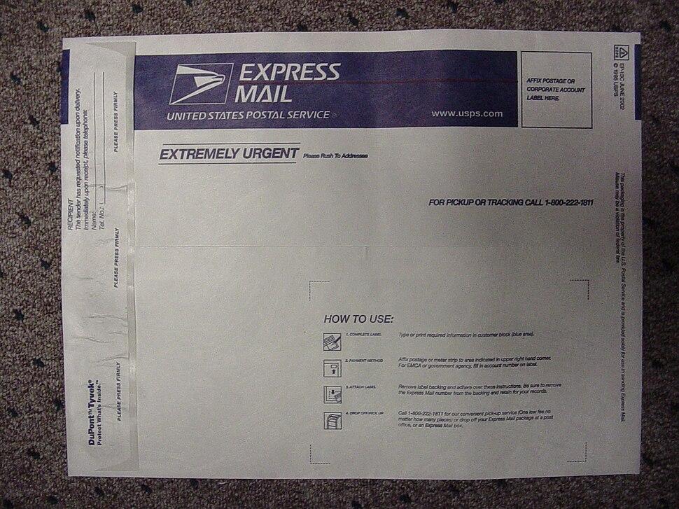 TyvekExpressMailEnvelope
