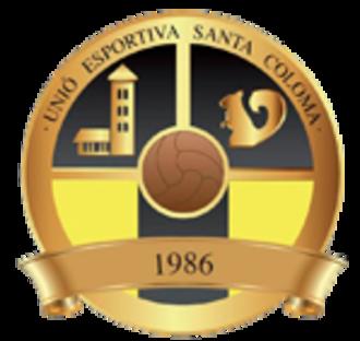UE Santa Coloma - Image: UE Santa Colomacrest