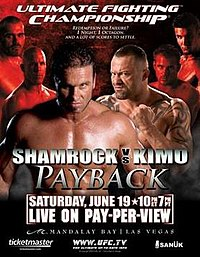 A poster or logo for UFC 48: Payback.