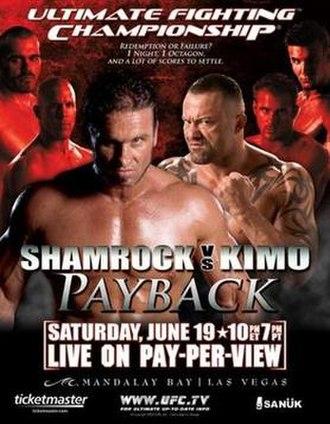 UFC 48 - Image: UFC 48 Payback Poster