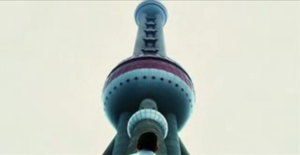 Ultraviolet (film) - Scene featuring Six (Cameron Bright) underneath the Oriental Pearl Tower in Shanghai, China.