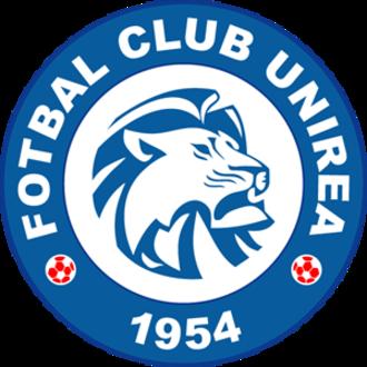FC Unirea Urziceni - Alternative club logo used during 2009-10 UEFA Champions League.