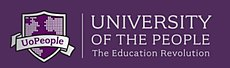 University of the People logo (with its coat of arms)