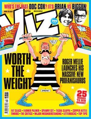 Viz (comics) - Image: Viz cover