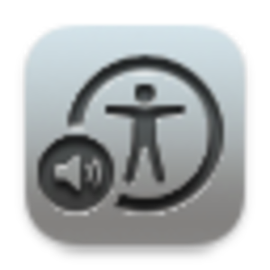 VoiceOver - Image: Voice Over Utility icon