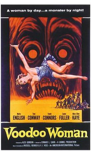 Voodoo Woman - film poster by Albert Kallis