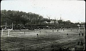 Alumni Stadium (WPI) - Image: WP Iafootballgame