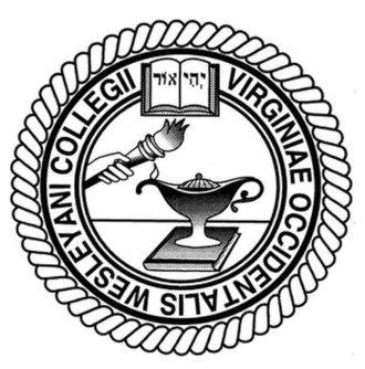 West Virginia Wesleyan College - Image: WVWC Official Seal