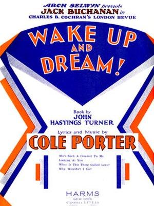 Wake Up and Dream - sheet music