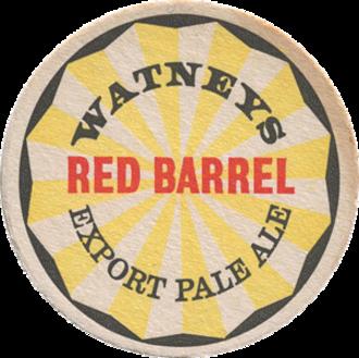 Watney Combe & Reid - Watney's Red Barrel logo