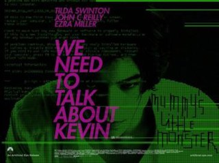 <i>We Need to Talk About Kevin</i> (film) 2011 film directed by Lynne Ramsay