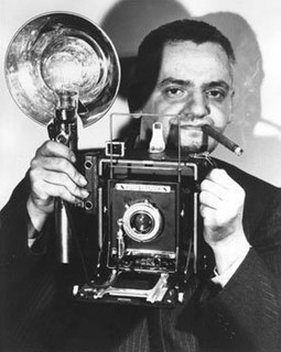 Weegee American photographer and photojournalist