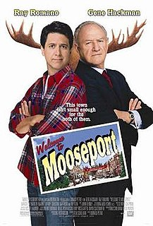 <i>Welcome to Mooseport</i> 2004 film by Donald Petrie