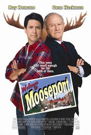 Welcome to Mooseport - Theatrical release poster