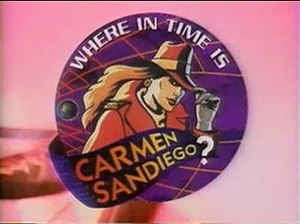 Where in Time Is Carmen Sandiego? (game show) - Image: Wherein Time Carmen Sandiego