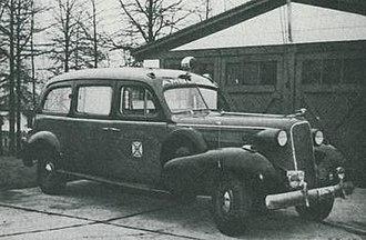 Winfield Township, New Jersey - Winfield Township Volunteer Ambulance Squad Ambulance 1947.