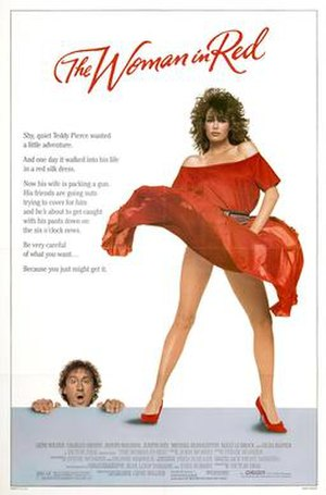 The Woman in Red (1984 film) - Theatrical release poster