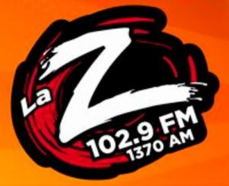 XHRPU-FM - Image: XHRPU 1370 102.9 La Z logo