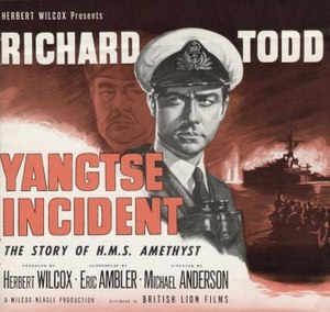 Yangtse Incident: The Story of H.M.S. Amethyst - Image: Yangtse Incident trade