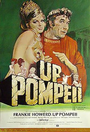 Up Pompeii (film) - Theatrical poster