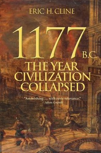 1177 B.C.: The Year Civilization Collapsed - Cover of the first edition