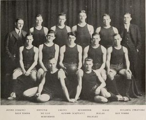 1916–17 Illinois Fighting Illini men's basketball team - Image: 1916 17 Fighting Illini men's basketball team