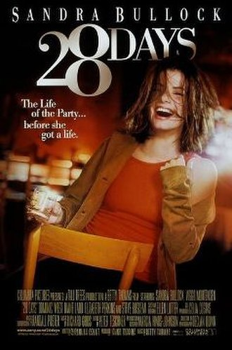 28 Days (film) - Theatrical release poster